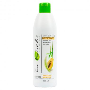 Шампунь против выпадения волос La Fabelo Anti Hair Loss Papaya & Seaweed Shampoo 300 мл (01490103901)