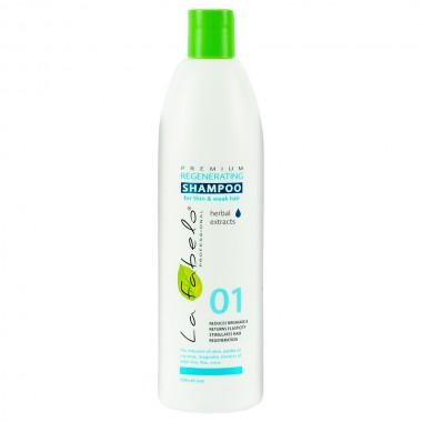 Шампунь регенерирующий для тонких и слабых волос La Fabelo Premium 01 Regenerating Shampoo 500 мл (1490101301)
