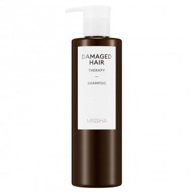 Шампунь восстанавливающий для поврежденных волос Missha Damaged Hair Therapy Shampoo 400 мл (8809643509824)
