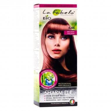 Крем-краска для волос La Fabelo Professional BIO 50 мл тон 6.46 (01490106901)