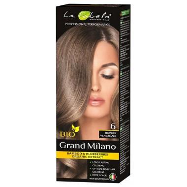 Крем-краска для волос La Fabelo Professional BIO 100 мл тон 6 (01490110601)