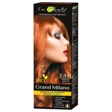 Крем-краска для волос La Fabelo Professional BIO 100 мл тон 7.44 (01490114001)