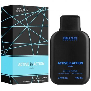 Парфюмерная вода для мужчин Carlo Bossi Active In Action Blue 100 мл (01020204102)