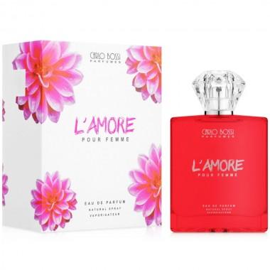 Парфюмерная вода для женщин Carlo Bossi L'Amore 100 мл (01020105302)
