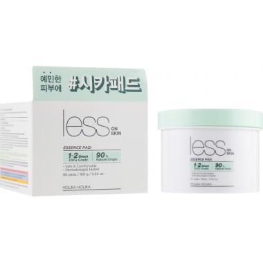 Очищающие диски для проблемной кожи Holika Holika Less On Skin Essence Pad 80 шт (8806334379759)